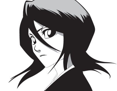 Rukia - Illustrated
