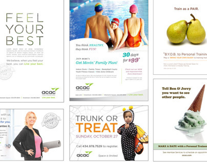 Print ads and campaign promotions