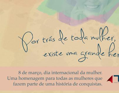 Dia Internacional da Mulher - TESC