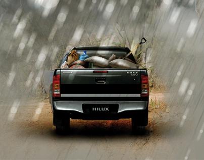 Toyota Hilux / Cruz Roja - Inundaciones