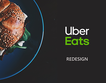 Redesign of Uber Eats