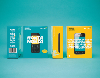 Optus: Packaging