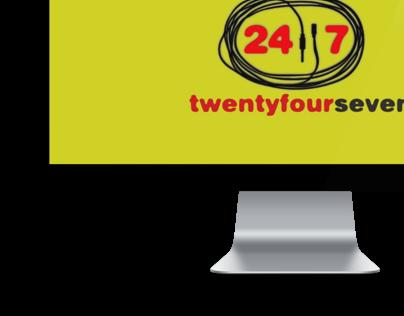 24/7 live show teaser & motion graphics