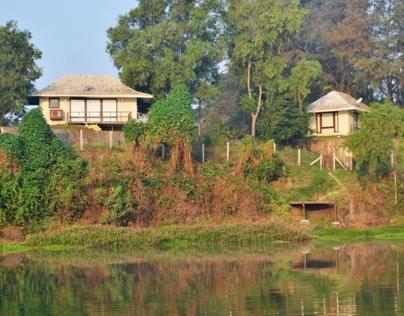 Riverfront House at Palghar