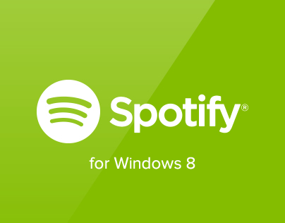 Spotify for Windows 8 (wip concept)