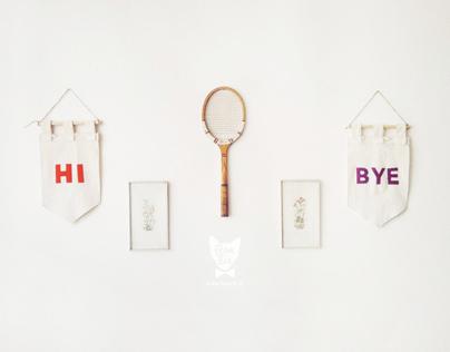 HI & BYE banners