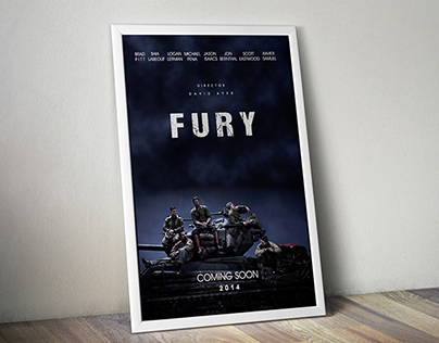 Fury Movie Poster Concept