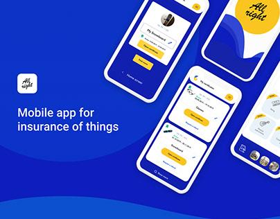 Product design | Insurance App | Ux/Ui