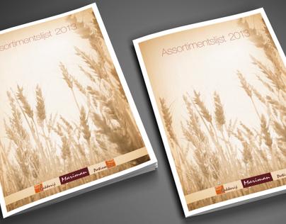 Mariman NV - Brochure bread assortment
