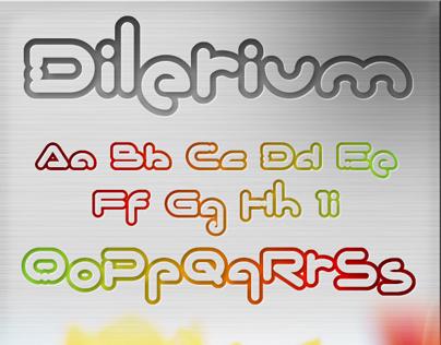 Dilerium Font