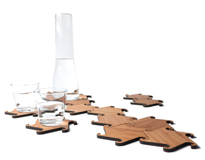 Zesch interlocking coasters/ trivets