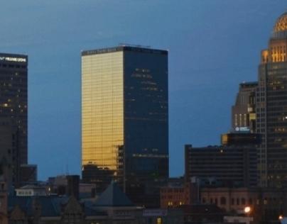 Louisville Skyline Timelapse Video