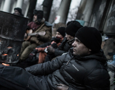 Occupy Kiev / Life