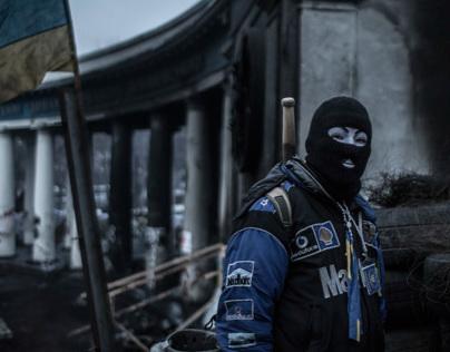 Occupy Kiev / Portraits