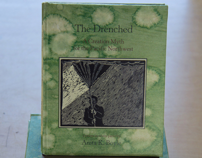 The Drenched: making a small hard cover poetry edition