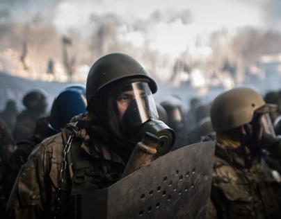 Occupy Kiev / War