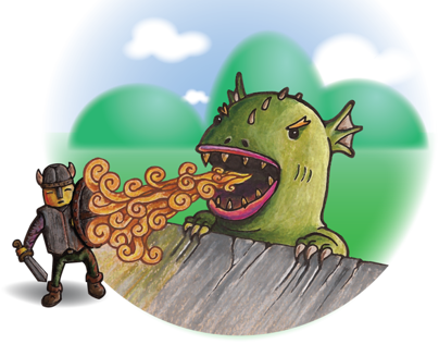 Monday's Child: Illustrations for Children's Book
