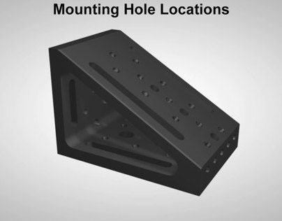 Angled Mounting Plate Animation