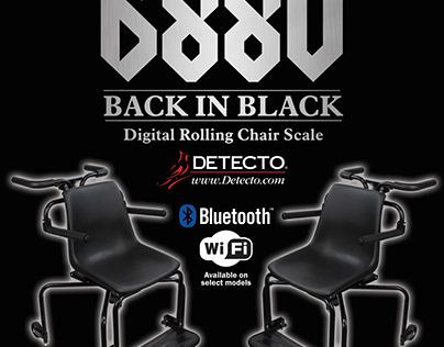 Back in Black Chair Scale Eblast