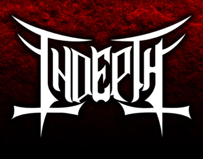 Indepth logo (Melodic Death Metal from Mexico)