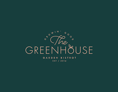 The Greenhouse Brand Identity