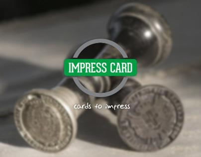 Impress Card - Brand Identity