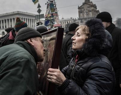 Occupy Kiev / Death