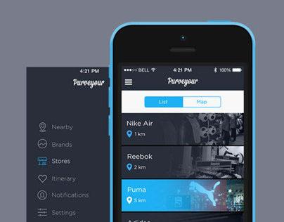 Purveyour Mobile UI