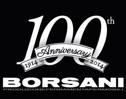 100th's badge