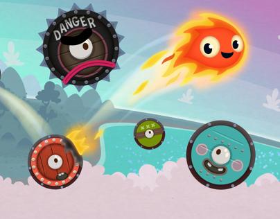 Pyro Jump - video game