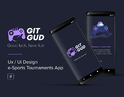 Ux/Ui | Git Gud eSports Tournaments