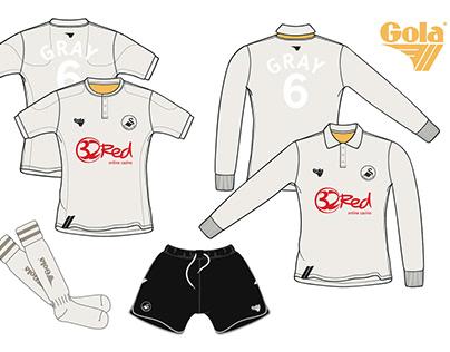 Gola Football Apparel design concept