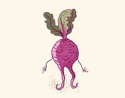 Dancing Beetroot Animation