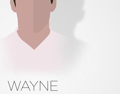 Wayne Rooney Vector Illustration