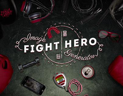 Sport Fight Hero Image Generator