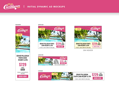 Google - Cheap Caribbean Custom Layout Case Study