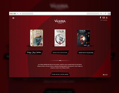 Valkiria Liquids / Web Site
