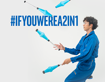 Intel Malaysia - If You Were A 2 in 1