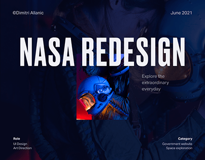NASA - UI/UX Redesign