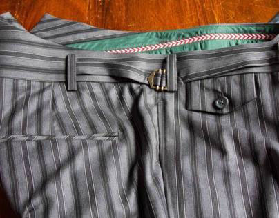 Fishtail Trousers