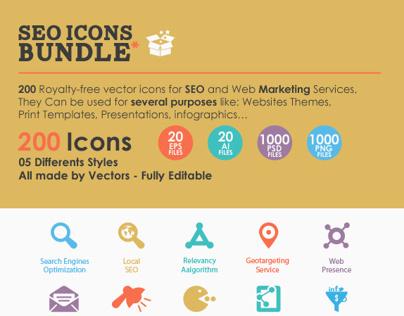 SEO Icons Bundle