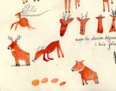 Dear Deer illustration