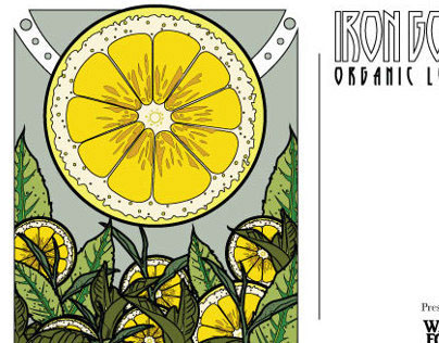 Iron Goddess - Tea post card