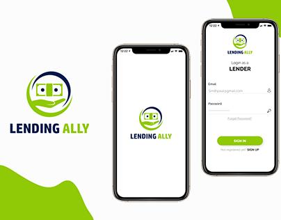 Lending Alley mobile App UI