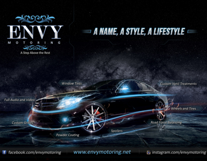 ENVY Motoring Photography Manipulation