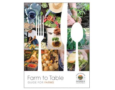 Farm to Table Brochure for Farms
