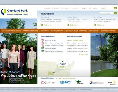 Website - Overland Park Chamber of Commerce EDC