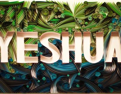 Yeshua - Paper Art