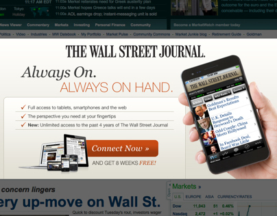 how to get free subscription to wall street journal audible
