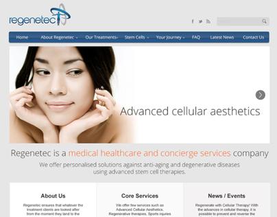 Regenetec - Website